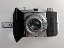 Kodak Retina. Old Kodak Retina film camera, circa 1945 Stock Photos
