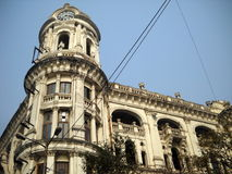 Old kolkata. This house is a memorial of old calcuttya Royalty Free Stock Images