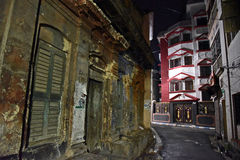 Old Kolkata At Night Stock Photos