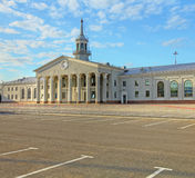 Old Koltsovo airport terminal in Yekaterinburg Royalty Free Stock Images