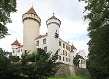 Old Konopiste castle Royalty Free Stock Photography