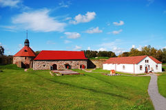 Old Korela fortress. In the town of Priozersk, Russia stock photos
