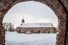 Old Korela fortress in the town of Priozersk, Russia. Stock Photos