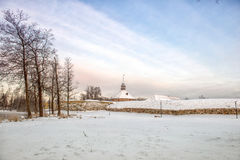 Old Korela fortress in the town of Priozersk, Russia. Stock Image