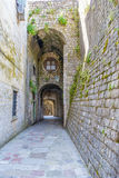 Old Kotor. Houses, streets and alleys. Montenegro Stock Images