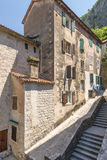 Old Kotor. Houses, streets and alleys. Montenegro Royalty Free Stock Photo