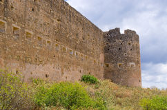 Old Koulos fortess, Crete, Greece Stock Image