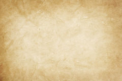 Old  kraft paper Royalty Free Stock Image