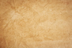Old  kraft paper texture Stock Image