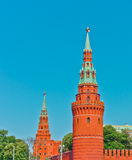 Old Kremlin in Moscow Royalty Free Stock Images