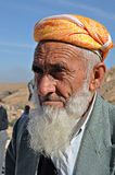 Old kurdish man Stock Image