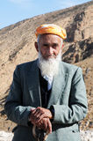 Old kurdish man Stock Photos