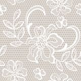 Old lace background, ornamental flowers Royalty Free Stock Photography