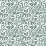 Old lace background, ornamental flowers. Vector Royalty Free Stock Photo