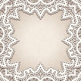 Old lace background vector illustration