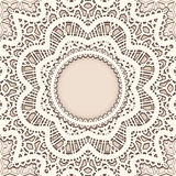 Old lace background stock illustration