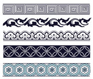 Old lace pattern Stock Photo
