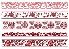 Old lace pattern Royalty Free Stock Images