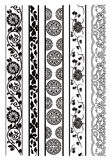 Old lace pattern Stock Photography