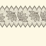 Old lace seamless pattern, ornamental border Royalty Free Stock Image