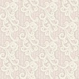 Old lace seamless pattern Stock Photo
