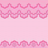 Old lace seamless pattern. Vector texture Royalty Free Stock Image