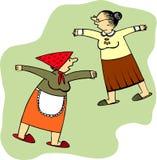 Old ladies Stock Image