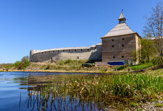 The old Ladoga fortress Stock Image