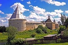 Old Ladoga fortress in Russia Royalty Free Stock Photography