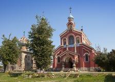 Old Ladoga Nikolsky monastery , presumably 13th century. Russia Stock Photo
