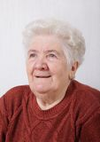 Old lady Royalty Free Stock Image