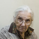 Old lady Royalty Free Stock Photos