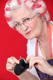 An old lady Royalty Free Stock Photography