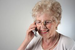 Old lady Stock Photos