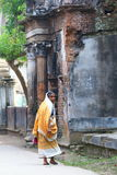Old lady. In the ancient streets of Panam City Bangladesh Royalty Free Stock Photography