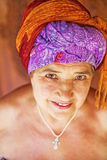 Old lady portrait Royalty Free Stock Photo