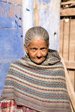 Old lady, Rajasthan, India Royalty Free Stock Photography