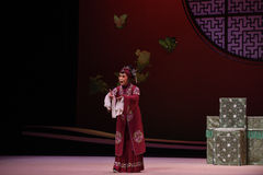 "Old lady's decision-Kunqu Opera ""the West Chamber"" Royalty Free Stock Image"