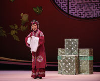 "Old lady's decision-Kunqu Opera ""the West Chamber"" Stock Photo"