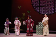 "Old lady's decision-Kunqu Opera ""the West Chamber"" Royalty Free Stock Photography"