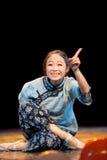 The old lady said joke--Folk Dance Stock Photography
