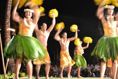 Old Lahaina Luau Royalty Free Stock Photography