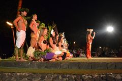 Old Lahaina Luau Royalty Free Stock Photo