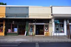 Old Lahaina storefronts, Maui royalty free stock photos