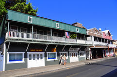Old Lahaina storefronts, Maui Stock Image