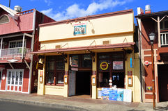 Old Lahaina storefronts, Maui Royalty Free Stock Images