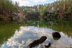 Old lake Stock Photo