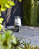 Old Lambretta Scooters Stock Photos