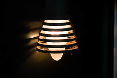 An old lamp bulb. Dirty Royalty Free Stock Image