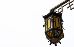 Old lamp. Chinese vintage style royalty free stock photo